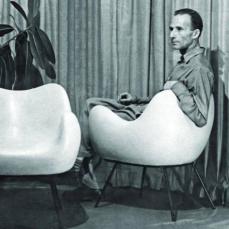 Fotel RM58 CLASSIC BIAŁY VZÓR