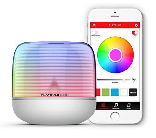 MiPow Playbulb Candle 2 - LED-Teelicht mit App-Steuerung (Bluetooth), kabellos über Batterie (3xAA), über 16 Millionen Farben und Effekte #MiPow #Playbulb #Candle #Teelicht #Steuerung #(Bluetooth), #kabellos #über #Batterie #(xAA), #Millionen #Farben #Effekte