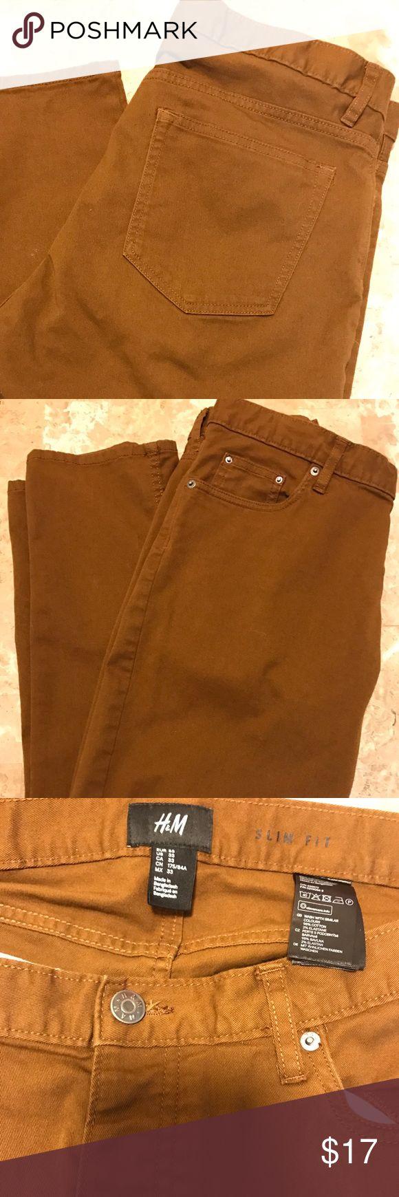 H&M Slim Fit Casual Slack Pants Men's H&M Casual Slack Pants Men's H&M  Pants
