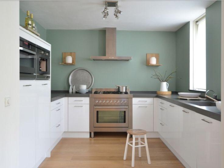 25 beste idee n over keuken kleuren op pinterest keuken verf schema interieur kleuren en - Kleur verf moderne keuken ...