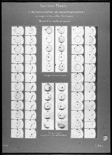 image- Film strip of a bubble bursting