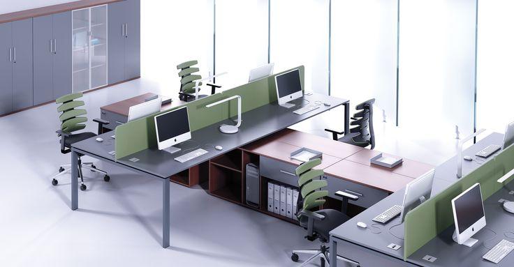 System Profil jest nowoczesną linią wzorniczą mebli, przeznaczoną do aranżacji pomieszczeń biurowych, sal konferencyjnych oraz gabinetów menedżerskich. W skład systemu wchodzą biurka oparte na trzech typach nóg oznaczane symbolami N, O i V, komody: menedżerska i pracownicza, przewidziane jako wolnostojące lub wspierające biurko, stoły konferencyjne i dostawki. #mebelux #lobos #krzesło #biuro #meblebiurowe #meble #furniture #work #design #chair #wnętrza www.meble.lobos.pl/
