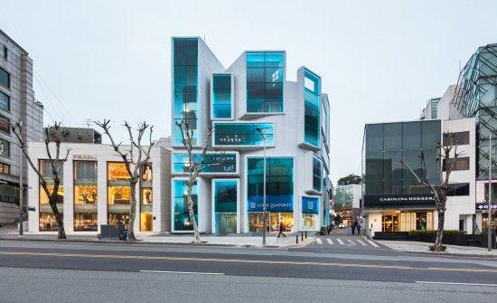 Chungha Building by MVRDV I Like Architecture