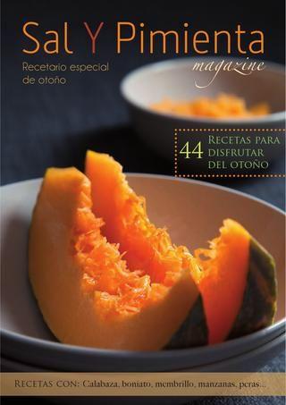 Recetario de otoño Sal y Pimienta Magazine