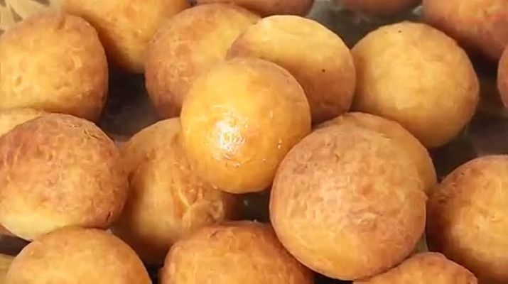 Рецепт творожных шариков