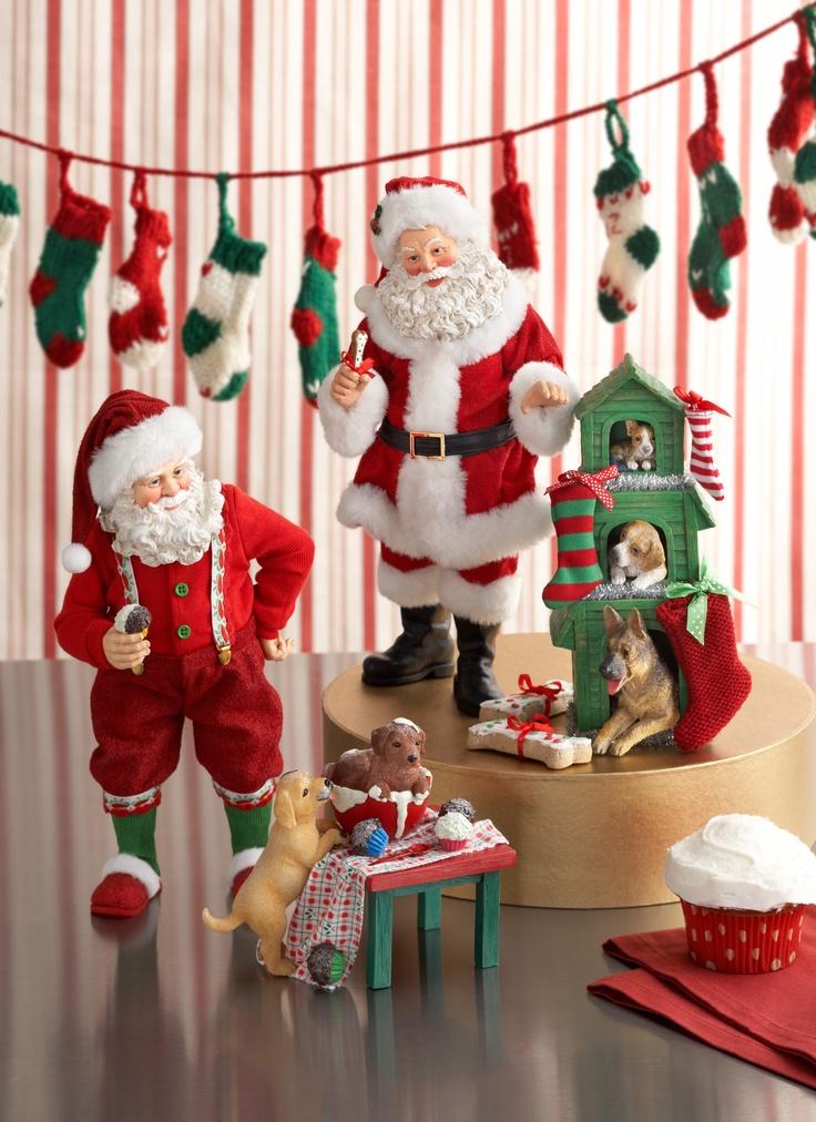 Possible Dreams Santa and His Pets Collection