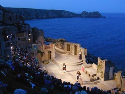 places I love    minack theatre Cornwall