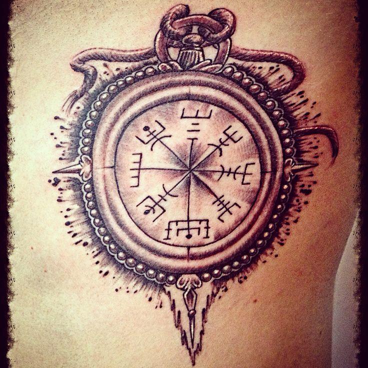 Brujula Vikinga Reborn Tattoo Studio Pinterest