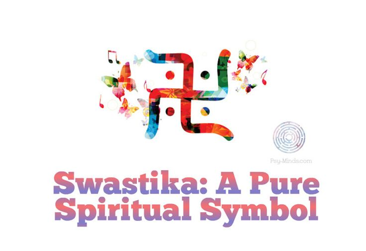 The completed symbol of the swastika denotes a world in itself, a spatial order of power with elements equidistant from the center.