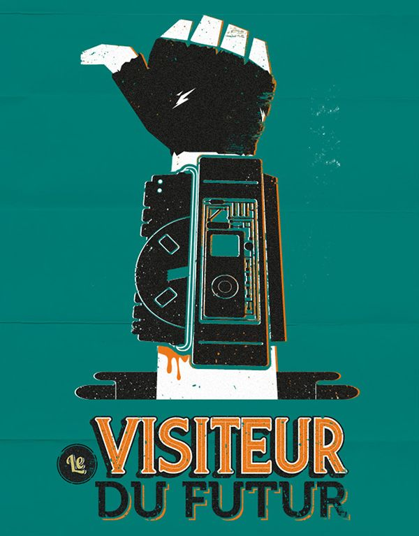 Tee Promo Le visiteur du futur on Behance
