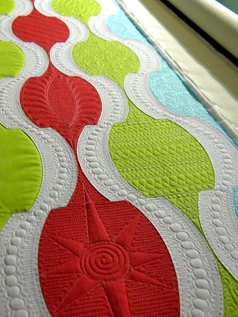 Sew Kind Of Wonderful - love this quilting