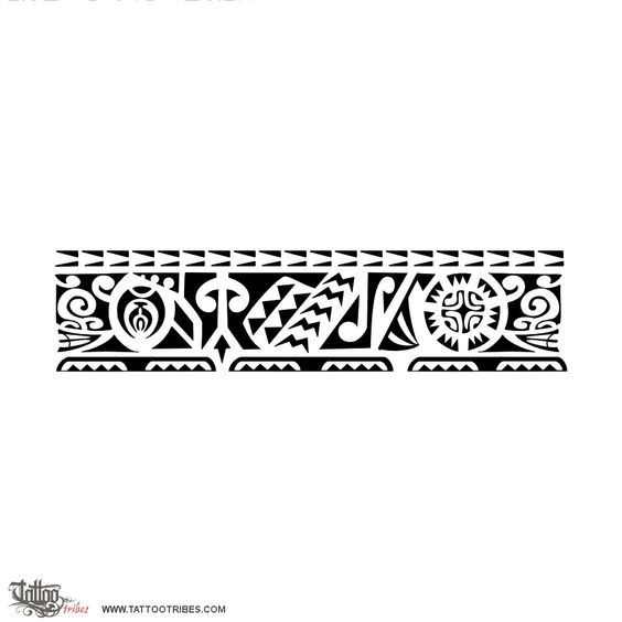 Putui. Persistent. This armband requested by Carlo takes inspiration from Marquesan tattoos and it includes elements symbolizing family (the rito rito motif next to the sun), prosperity and protection. The sun includes a Marquesan cross, symbolizing[...] http://www.tattootribes.com/index.php?newlang=English&idinfo=7227
