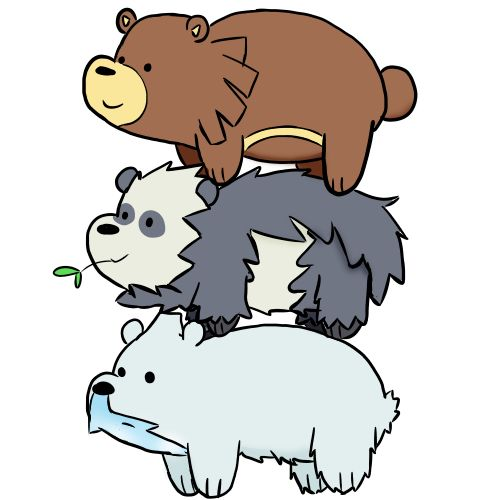 Free We Bare Bear Art! : webarebears