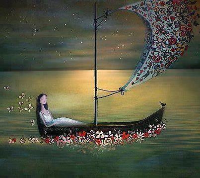 Little rowing boat :)