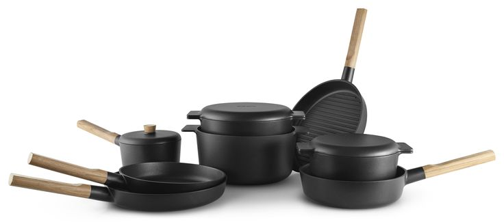 Nordic Kitchen cookware series by Eva Solo