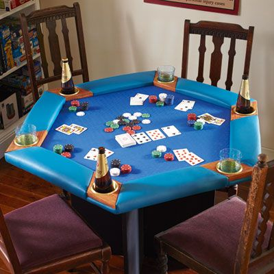Build this classic poker table from MDF for just $290 and turn your rumpus into a games room. | Handyman Magazine |