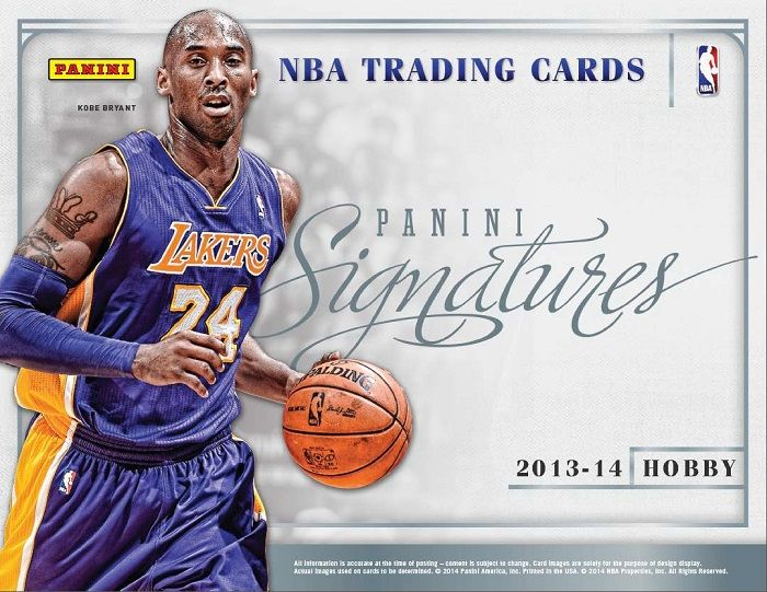 2013-14 Panini Signatures Basketball Hobby Box