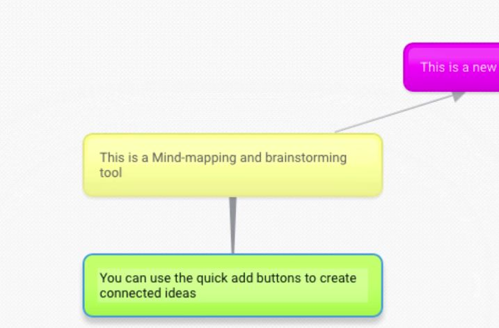 "Bubbl.us - If you're brainstorming, it can be helpful to visually map out your ideas and connect them to each other. With Bubbl.us, you can create different colored ""bubbles"" to organize your thoughts and ideas into one cohesive mind map."