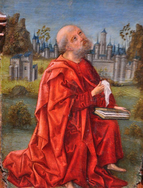 """""""Triptyque de la Flagellation"""", détail, 1490-1500, attribué au Maestro de los Luna, musée de Santa Cruz, Tolède, Castille-La Manche, Espagne.   par byb64"""