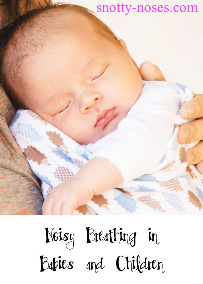 Noisy Breathing In Children And Babies By Dr Orlena Kerek