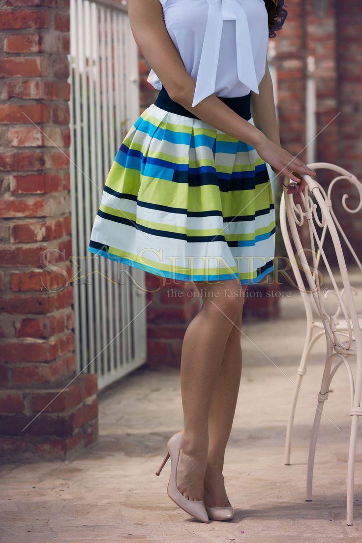 Fofy Vivid Dream Green Skirt