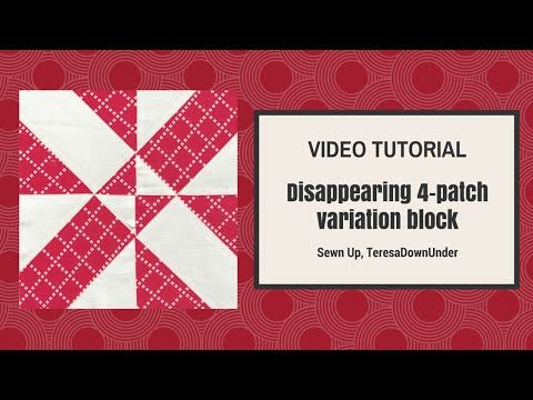 Video tutorial: Disappearing 4-patch variation block ...