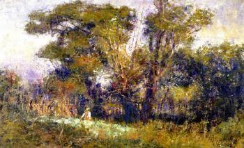 The Old Garden - Frederick McCubbin