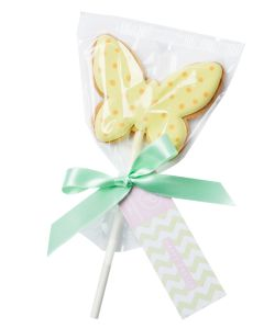 18 best easter baking inspirations images on pinterest spring peggy porschen easter butterfly cookie pop negle Images