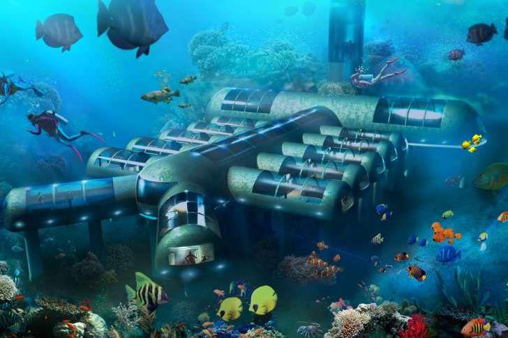 Así será el primer hotel-nave submarina del mundo