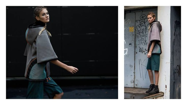Clothes: Gabrielle Tamasciuk Photo: Mantas Girskas Model: Caroline (Rebel Models) Make-up: Nisa Holmedal