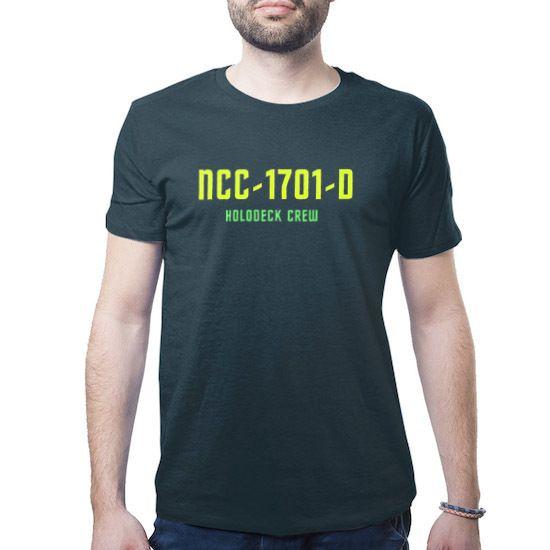 #startrek USS Enterprise holodeck crew t-shirt #tee