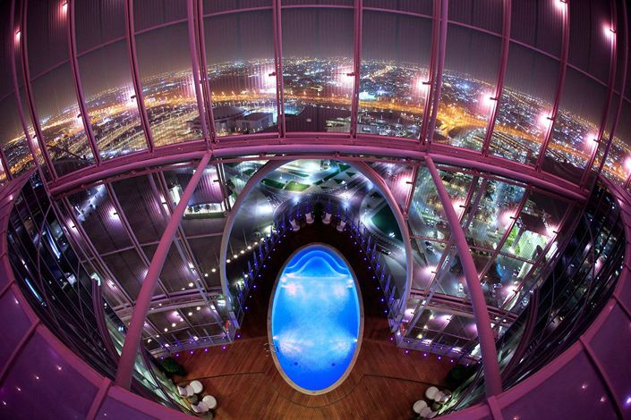 The most luxurious Hotels to visit in Qatar, The most luxurious pool you have to visit in Qatar