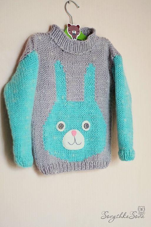 Связала своей мартышке свитерок из шерсти. Вдохновилась свитшотом Svetlana Yılmaz (Kochkina).