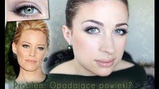** Opadająca powieka: makijaż Elizabeth Banks **, via YouTube.