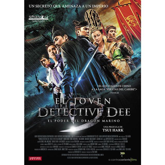 El Joven Detective Dee El Poder Del Dragon Marino Dvd Dragon Marino Detective Dragones