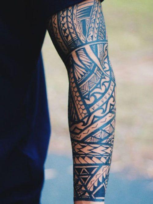 Sleeve Tattoos For Men - Tribal Designs