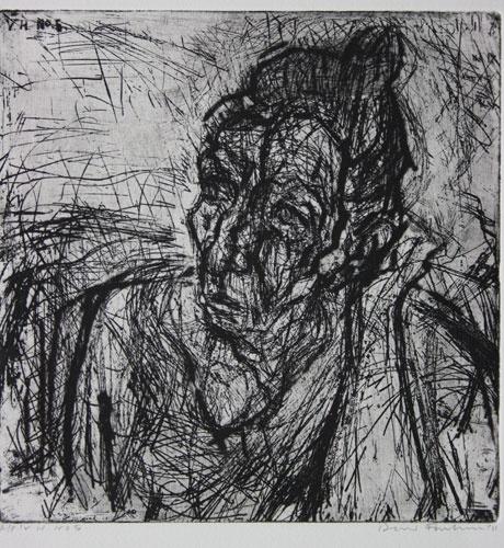 DAVID FAIRBAIRN  'V.H. No.5'   2011  copper etching ed. of 10, A/P  29.5 x 29 cm