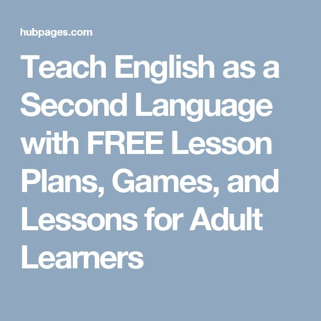Teach English as a Second Language with FREE Lesson Plans ...