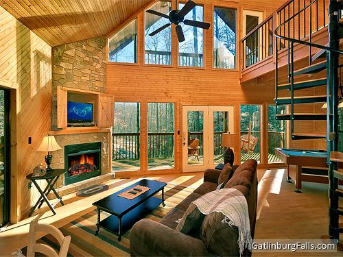 """Dreams and Streams"" 1-BR Gatlinburg cabin rental - private mountain tranquillity"