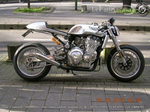 Triumph Daytona Super 3 Cafe Racer - Grease n Gasoline