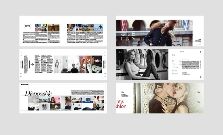 Selected Editorial Design Layouts — Monster Children Magazine