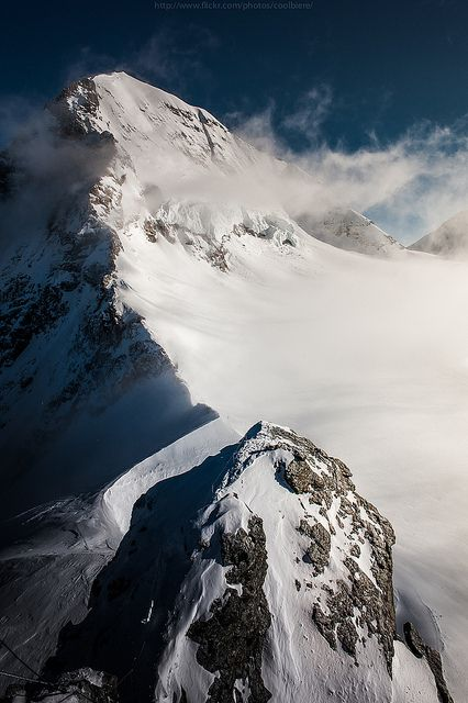 Supremely magnificent view of the Alps from Jungfrau. i have climbed mountains for you; every step forward seems to bring me two steps back. i can almost see the apex but it is shrouded by constant clouds. i don't know if i'll ever make it but i've got to believe in you and us. it's all i have.