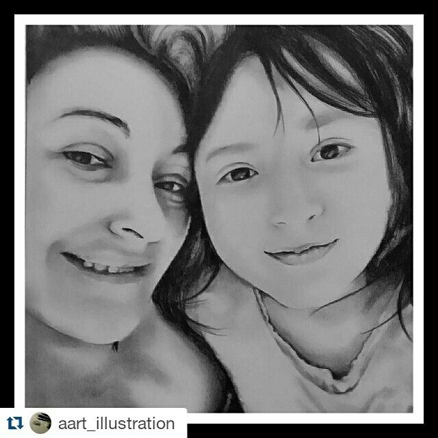 Mather and daughter