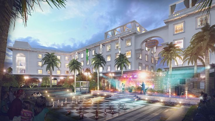 Lutyens Square - High-end Commercial Retail Complex    #Retail #Complex #Showroom #Shops #High-end #Market #Commercial #Shopping #Public #Square # Recreation #Restaurants #Fashion