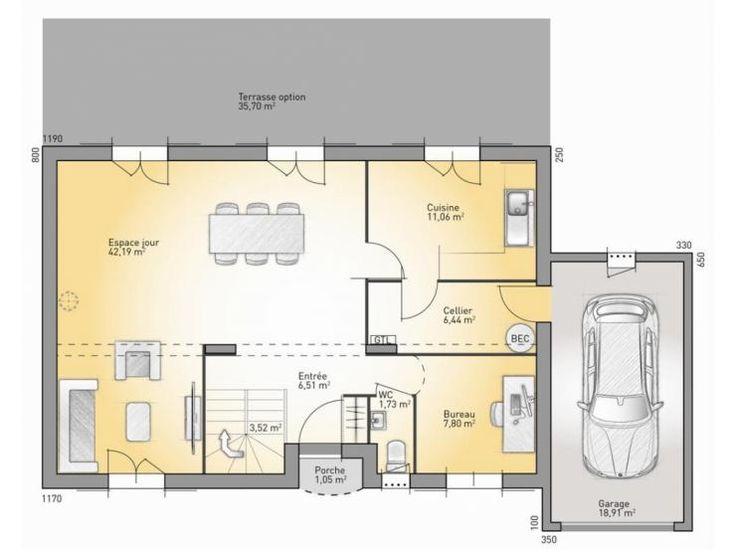 Plan de maison Bastide 155 : Vignette 1