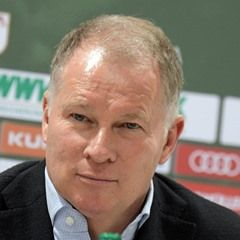 FC Augsburg hold training and press conference