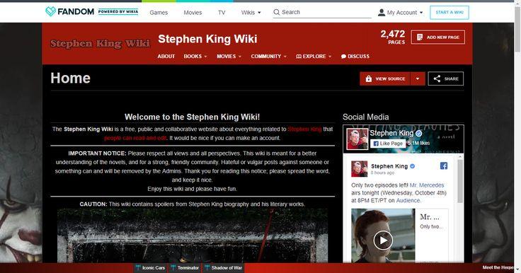 Stephen King Wiki   FANDOM powered by Wikia