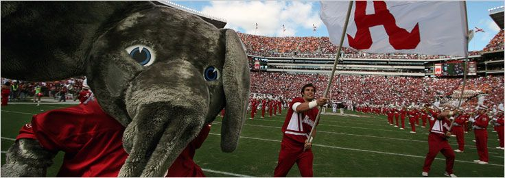 Yea Alabama, Crimson Tide! If you enjoy watching or participating in championship sports, or reveling in a unique gameday atmosphere, then you will feel right at home at The University of Alabama. http://www.payscale.com/research/US/School=University_of_Alabama_-_Main_Campus/Salary