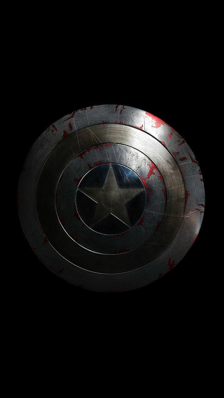 Captain America Avengers Hero Sheild Small Dark Iphone 6 Plus