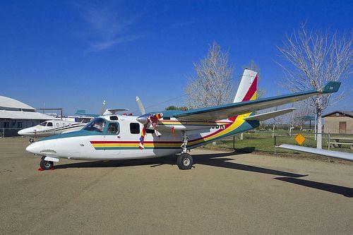 1961 Aero Commander 500B N520DR Tracy California Airport   Flickr